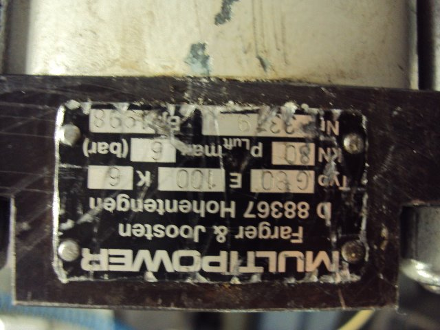 Cilindro Hidropneumático Multipower