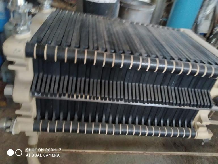 Filtro Prensa/Clarificador Aço Inox com 20 Placas em Polipropileno Leitz
