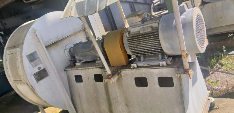 Ventilador Centrífugo: 1740RPM 380 Volts, 6