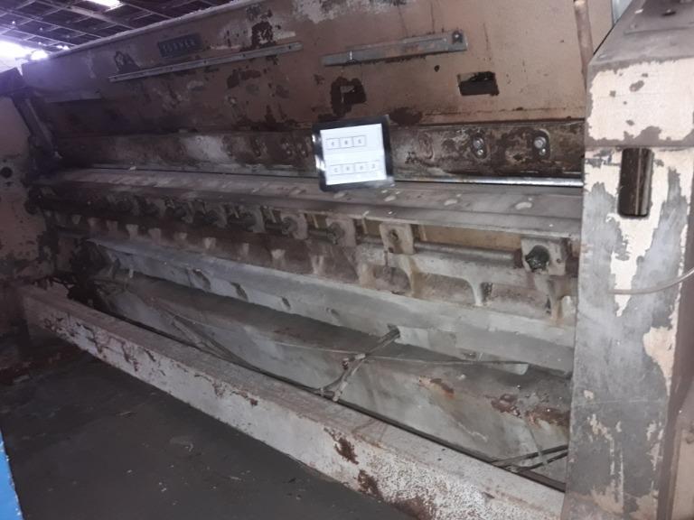 Máquina de Dividir Couro Turner D6370 1992