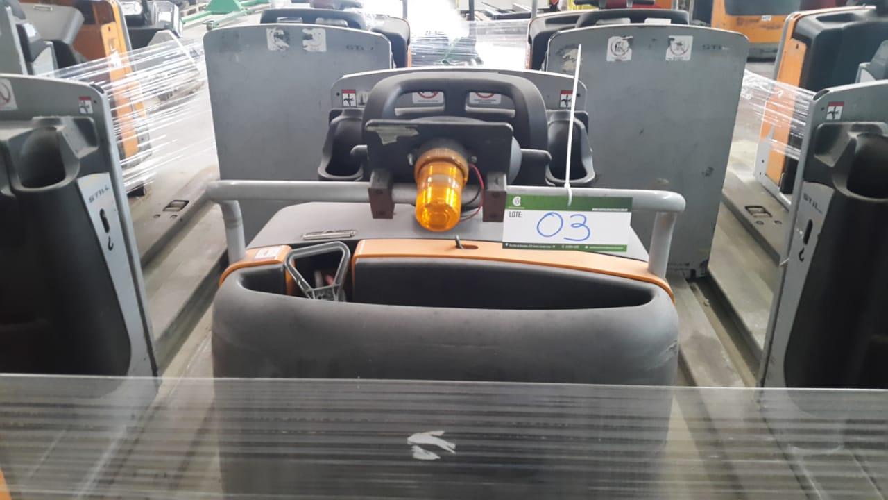 Paleteira Elétrica Still Completa – Garfo Duplo 02 pallets 2013