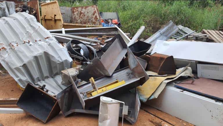 Sucata de Aço Comum Aprox. 160 Ton a gerar em 12 meses - Cuiabá MT