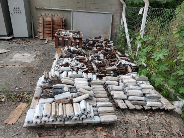Sucata de Aço Manganês Itapeva SP Aprox. 50 Ton a gerar em 12 meses.