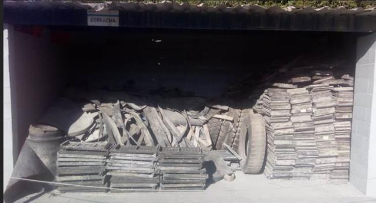 Sucata de Telas de Peneiramento Aprox. 6 Ton  - Santa Isabel SP