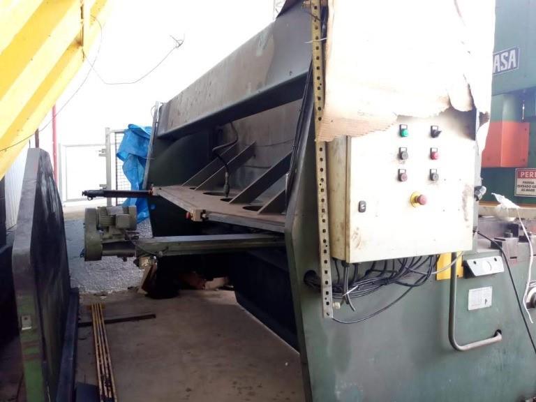 Dobradeira PV 2406 e Guilhotina TG 32.13 F - Fermasa 220v