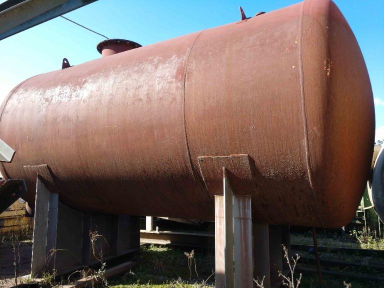 Tanque Reservatório de Óleo Térmico