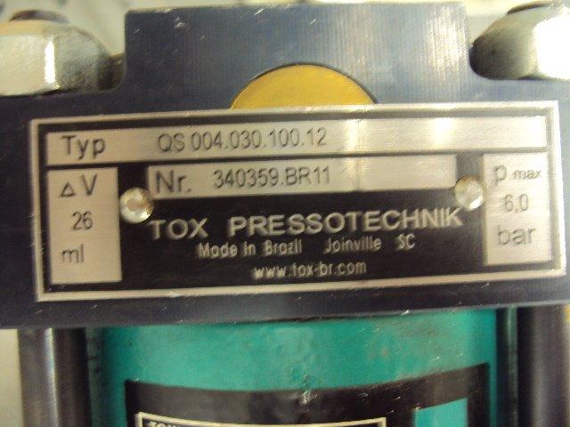 Cilindro Hidropneumático Tox