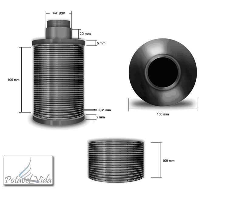 Vaso de Pressão em Aço Carbono para Uso Como Abrandador Diâmetro 1800 mm