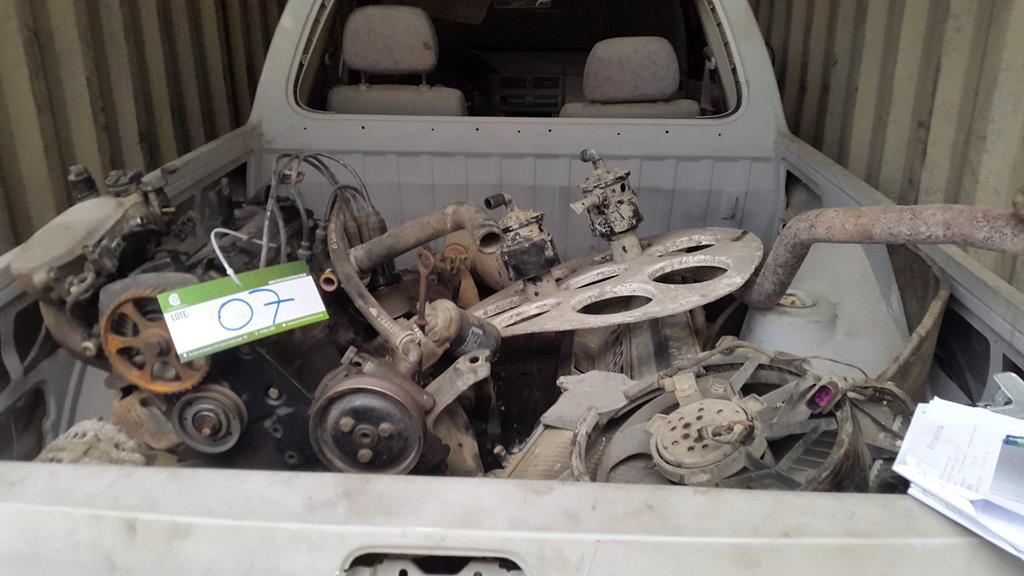 Pickup Saveiro VW 1.6 - 2000/2000