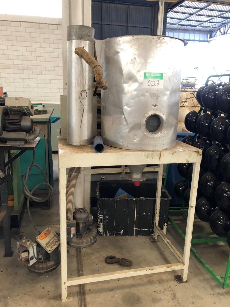 Conjunto Secador de Material Plástico Ineal 300 Lts
