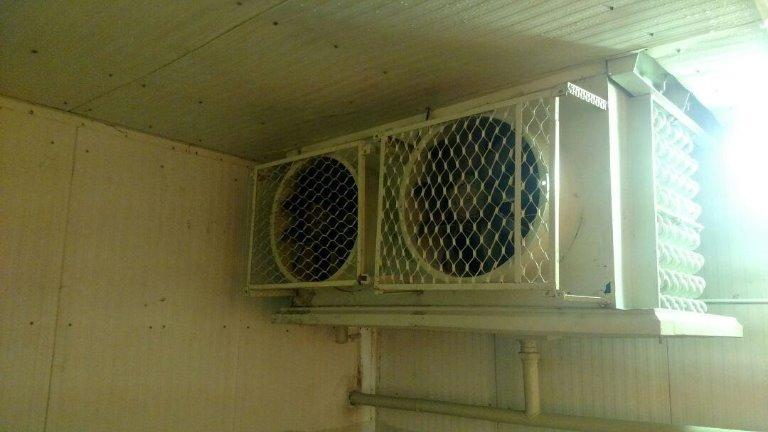 Evaporador 1 - Túnel - Evaporador Industrial Para Amônia