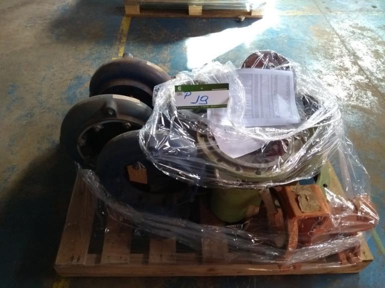 Lote em Pallet (Filtros, válculas solenoide, corpo recalque ferro fundido, etc)