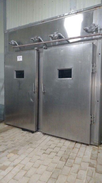 Estufa de Cozimento / Defumação - Em gabinete metálico - (Estufa 09)