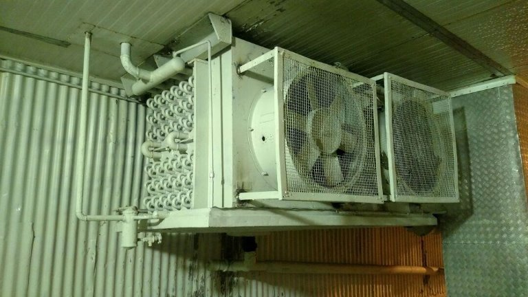 Evaporador 1 - Túnel 2 - Evaporador Industrial Para Amônia