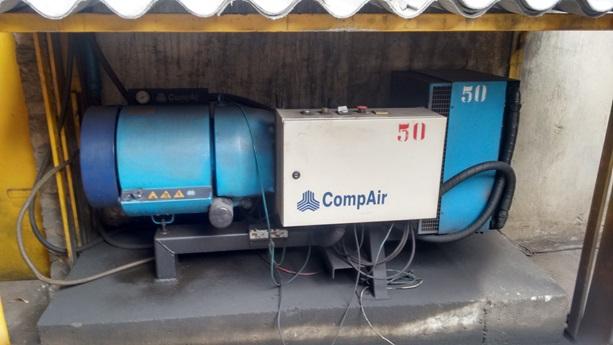 Compressor de Ar Parafuso Chiaperini CJ20 APV 200 l
