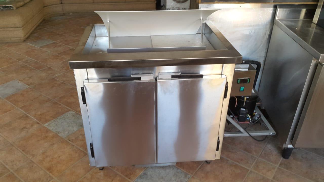 Freezer Horizontal 2 portas Inox Macon