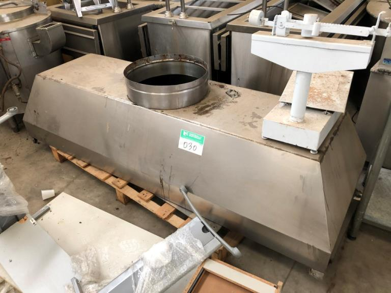 Coifa de Cozinha Industrial Inox 0,8x2,5m