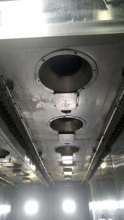 Estufa de Cozimento / Defumação - Em gabinete metálico (Estufa 08)