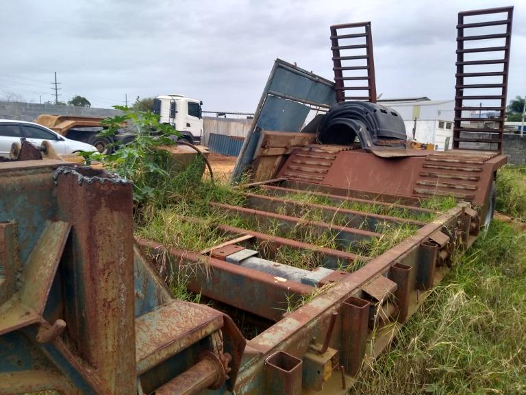 Carreta Reboque Aberta Rodofort RR CN 2006