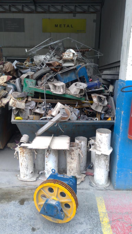Sucata de Aço Comum Aprox. 30 Ton a gerar em 12 meses - Araçariguama SP