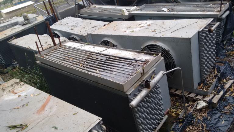 Evaporadores - Aproximadamente 50 unidades