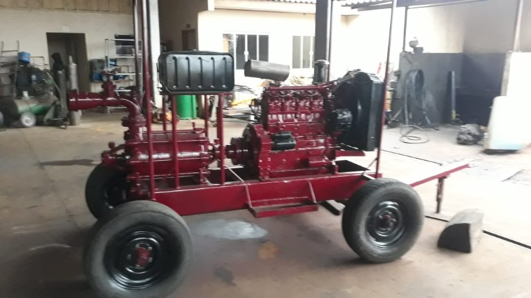 Moto Bomba Diesel MWM 4cc