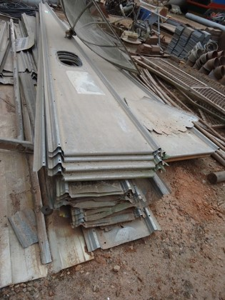 Telhado para Silo diâmetro Aprox. 10 m