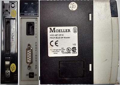 Módulo Profibus DP Master - Moeller - XIOC-NET-DP-M