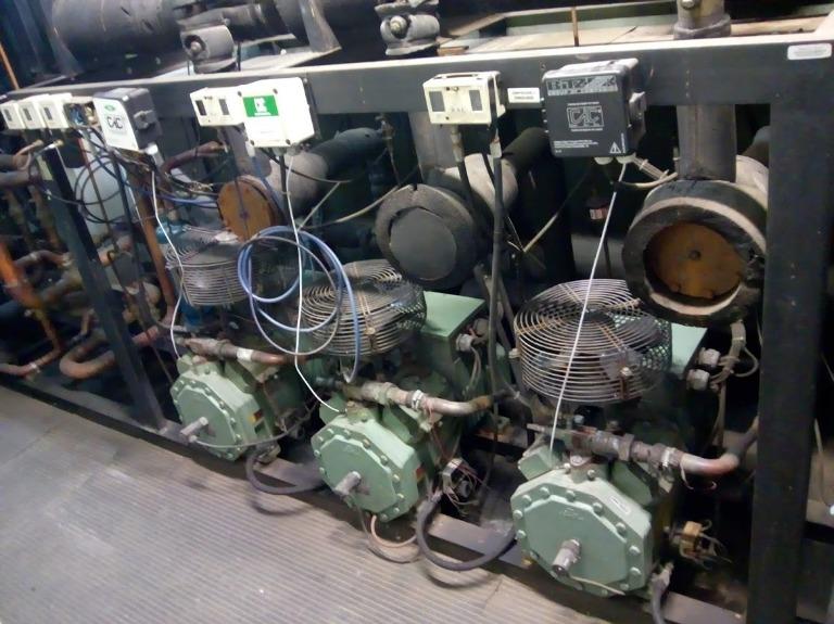 Casa de Máquinas - Refrigeração