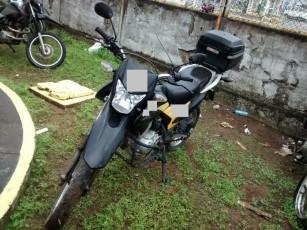 Motocicleta honda nxr150 bros esd 2013/2013