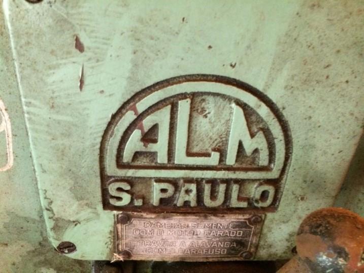 "Rosqueadeira ALM S. Paulo 1/2"" a 1/4"""
