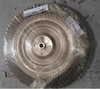 Discos de Turbina - Aço Inox e Alumínio