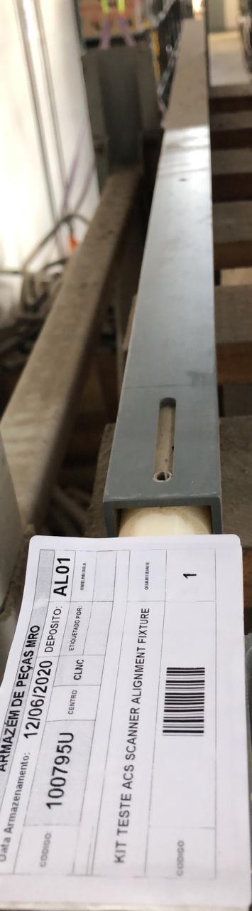 Kit teste acs scanner alignment fixture aprox. 1 peça