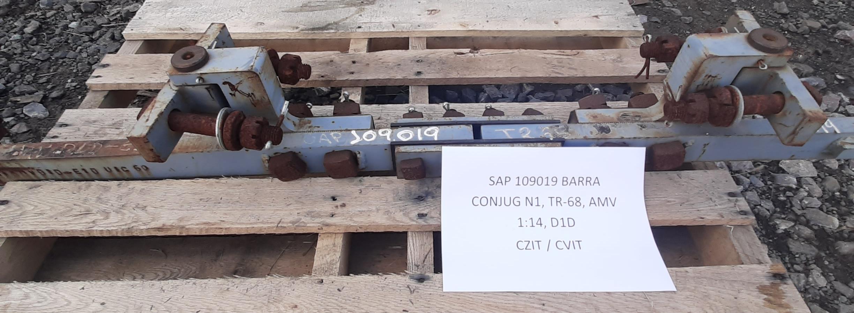 Barra conjug n1, tr-68, amv 1:14, d1d aprox. 1 unidade