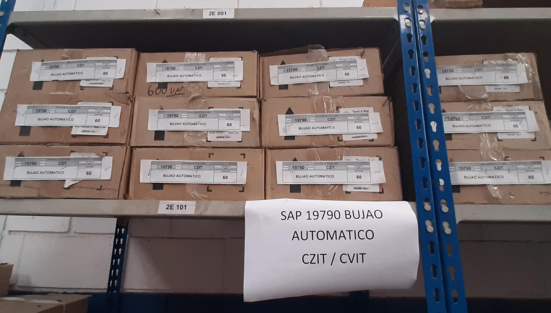 Bujao automatico aprox. 1243 peças