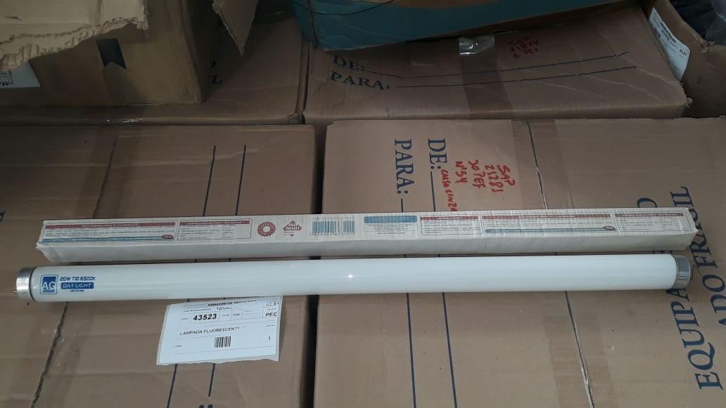 Lampada fluorescente 20w/54 aprox. 250 unidades