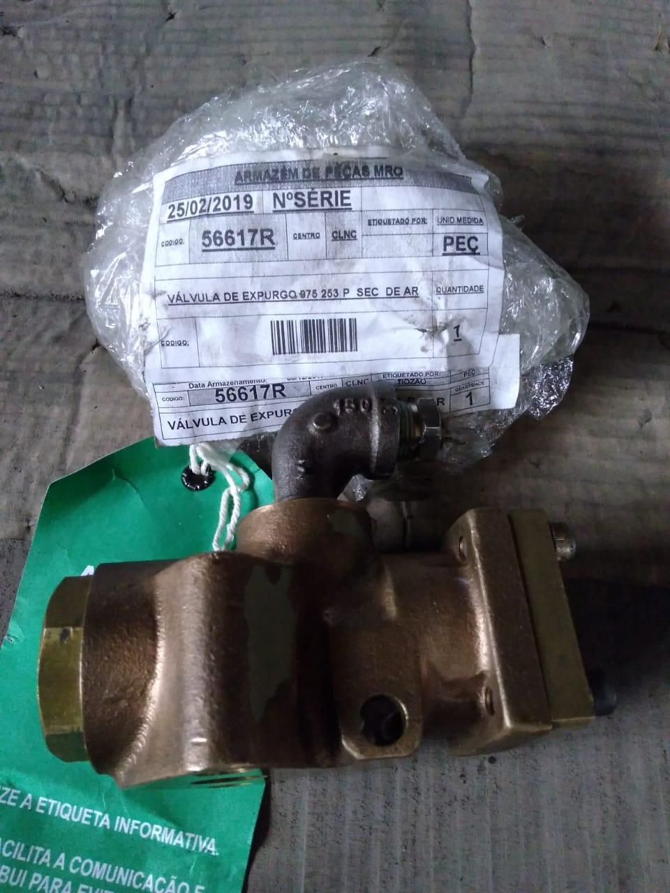 Válvula de expurgo 975 253 p  sec  de ar aprox. 1 peça