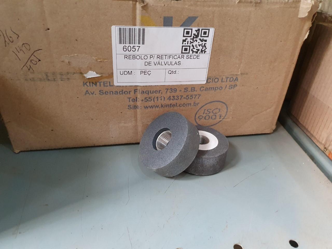 Rebolo p/ retificar sede de válvulas aprox. 30 peças