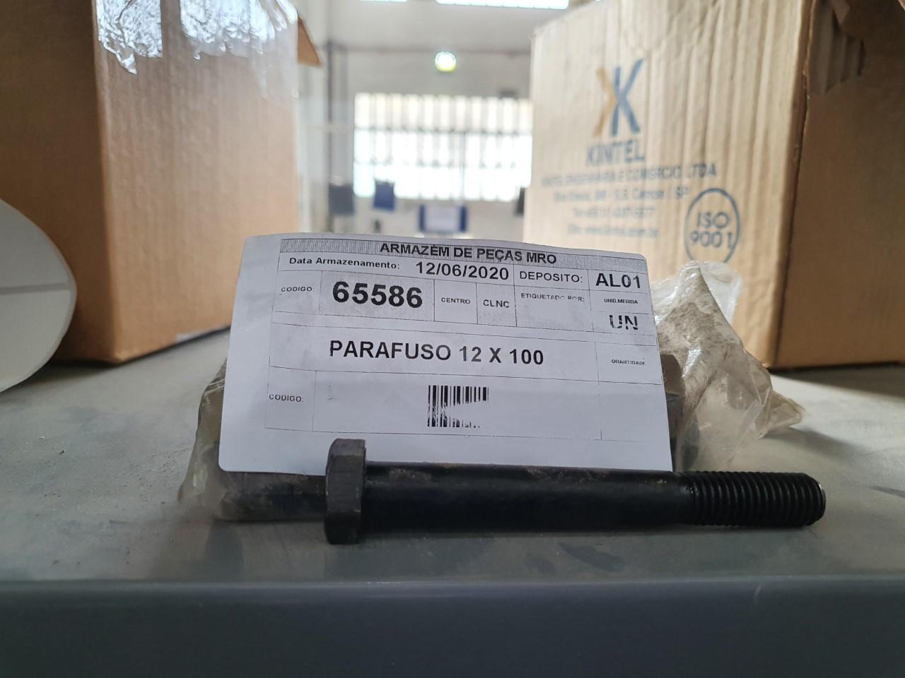 Parafuso 12 x 100 aprox. 40 unidades