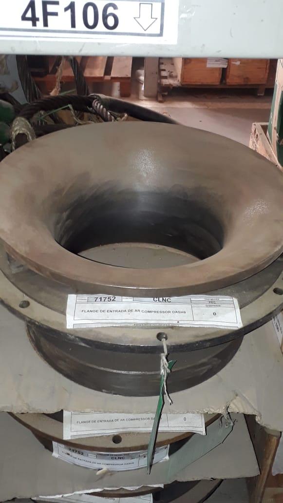 Flange de entrada de ar compressor dash9 aprox. 3 unidades
