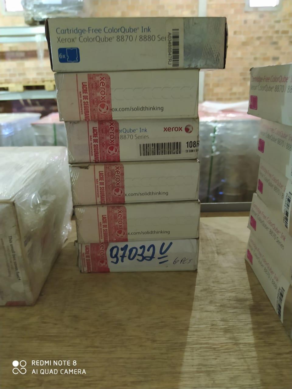 Bastao cera azul p/ impressora 8870 aprox. 36 unidades