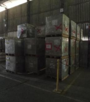 Lote de Sucata de Tijolos, Argamassa e Concreto Vencidos Aprox. 92,4 Ton.