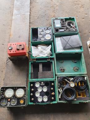 Tacômetro, Teste Hidr., Teste Pressão MTR, Teste MTR4
