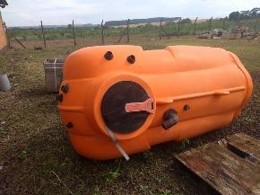 Tanque Pulverizador Stara Imperador + Suporte para Tanque