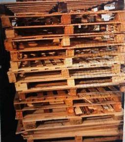 Pallet de Madeira ONE WAY - Medidas 1.20m x 1.20m e 1m x 1.20m - Capacidade de até 1.000kg.