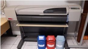 Impressora Plotter HP colorida