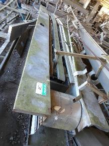 Estrutura de Transporte de Coxas em Aço Inox