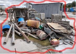 Sucata de Ferro Aprox. 10 ton - Itajaí SC