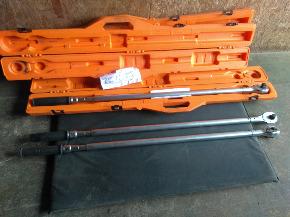"Torquímetro de Estalo Tramontina Pró 3/4"" Cap. 150-800 N.m"
