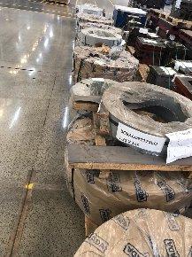 Slitters Diversos de Aço e Barramentos - Aproximadamente 14,5 ton.